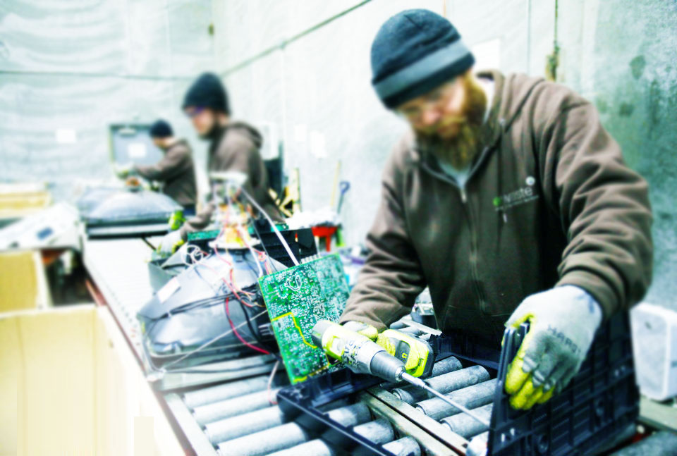 How e-waste recycling works in California